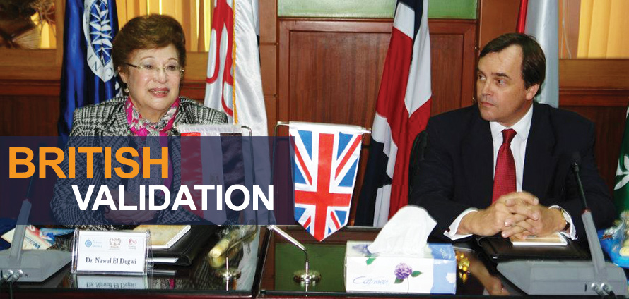 MSA University - British Validation