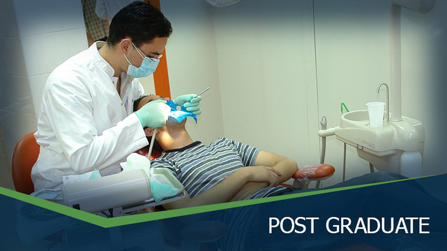 MSA University - 1st Master's Degree in restorative Dentistry.