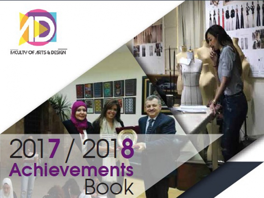Arts & Design Achievement Book 2017-2018