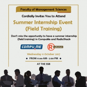 Summer Internship Event