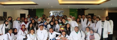 Biotechnology students in IceMan Factory