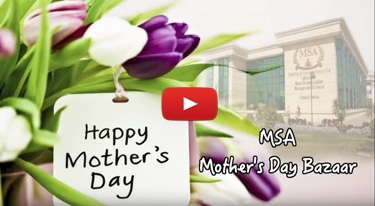 MSA mothers' day bazzar