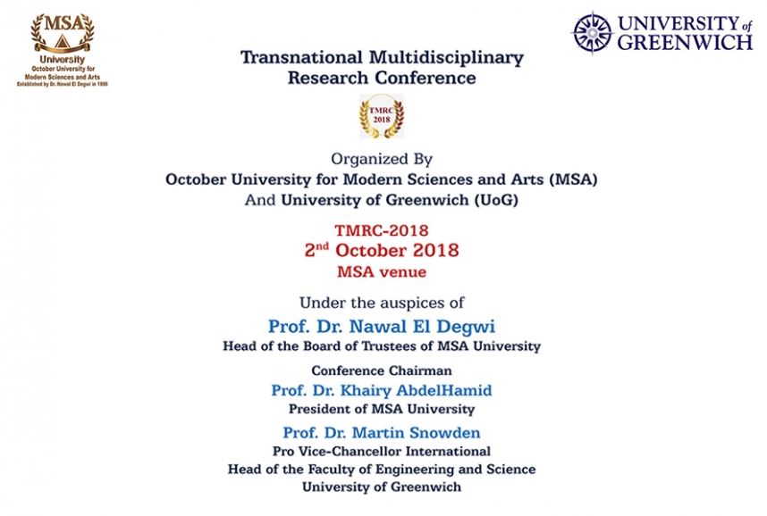Transnational Multidisciplinary Research Conference