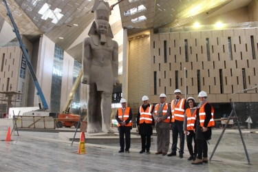 A field visit to the Grand Egyptian Museum