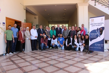 Infection control and HCV in Egypt