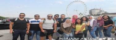 MSAians are having a blast in London