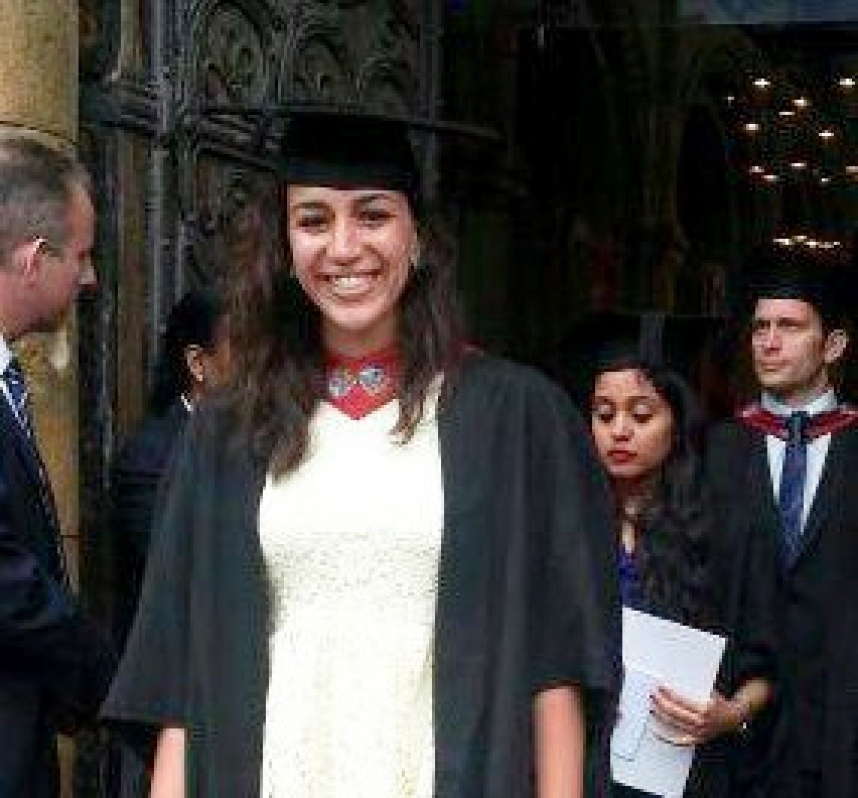 Msc Graduation Ceremony at Rochester Cathedral, University of Greenwich, UK